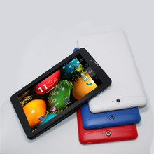 Cheapest 2G phone call tablet pc 7 inch MTK8312 Dual core Bluetooth Wifi 3000mAh Android 4.2 512M/4G Dual sim card slot GPS