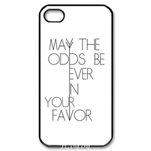 0733 2017 hot The Hunger Games fond motif Fashion Design cell phone bags case cover for iphone 4S 5S 5C SE 6S 7 PLUS Samsung S3