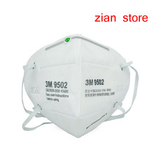 3M 9502 Safety Masks  N95 particulate matter Anti PM2.5/smog Protective Industrial folding filter mask Adult Dust mask