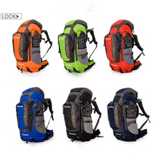 New 80L Lightweight Outdoor Mountaineering Bag  Special Waterproof Travel Camping Campaign Backpack