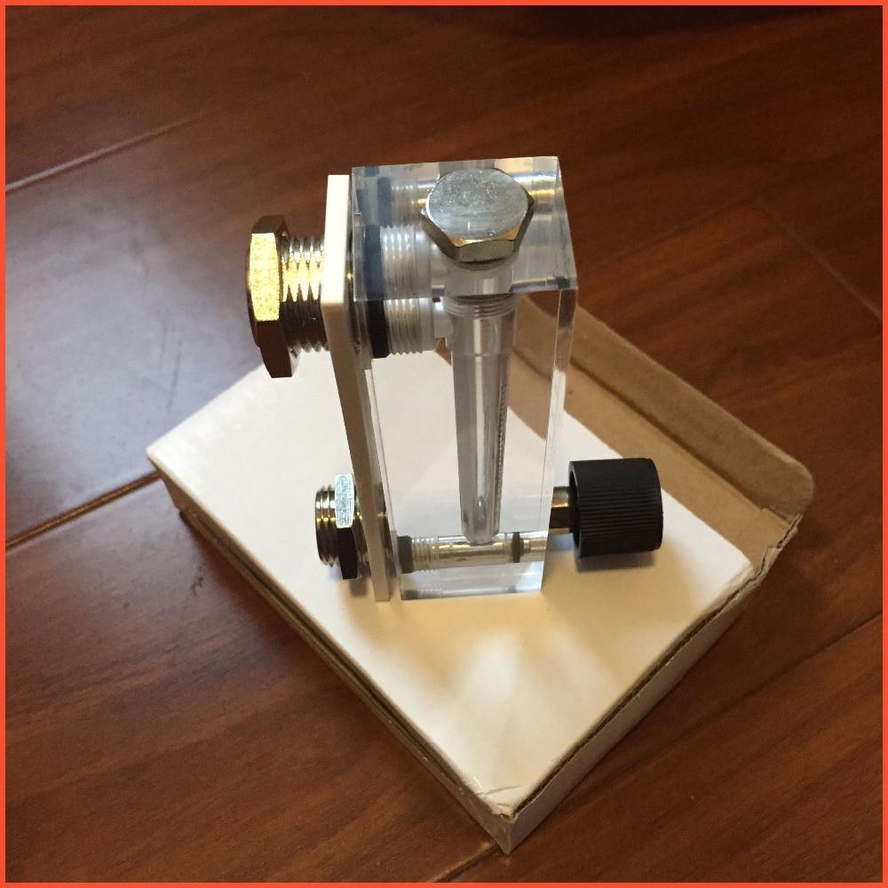LZT-6T 6-60 LPH Square Panel Type Liquid Flowmeter Air Flow Meter rotameter LZT6T Tools Flow Measuring<br><br>Aliexpress