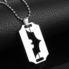 Buy Batman Necklace Stainless Steel Pendant Necklace Movie Jewelry Bead Chain Neck lace Superheroes Movie Jewelry for $1.50 in AliExpress store