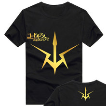 2017 Code Geass Lelouch of the Rebellion T Shirt Anime Japanese Famous Animation Novelty Summer Men's T-shirt Cosplay Clothing