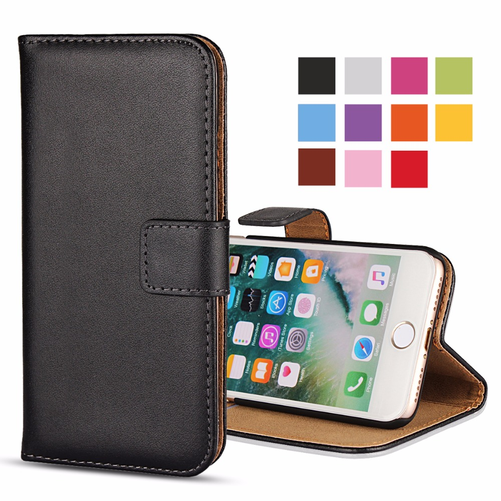 For iPhone 6 5S Flip Case 6S SE 5C Free Capa Leather Mobile Phone Bag Accessory For iPhone 6s Plus Cases Cover Coque Funda (20)