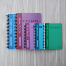 Student office. Business supplies notepad notebook, high-quality hard plastic cover notebook business notebook diary