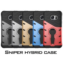 For Samsung Galaxy S5 S6 edge plus S7 S7edge Note5 J3 J5 J7 PC+ Silicone 3D Heavy Duty Military Anti Shock Kickstand Armor Case