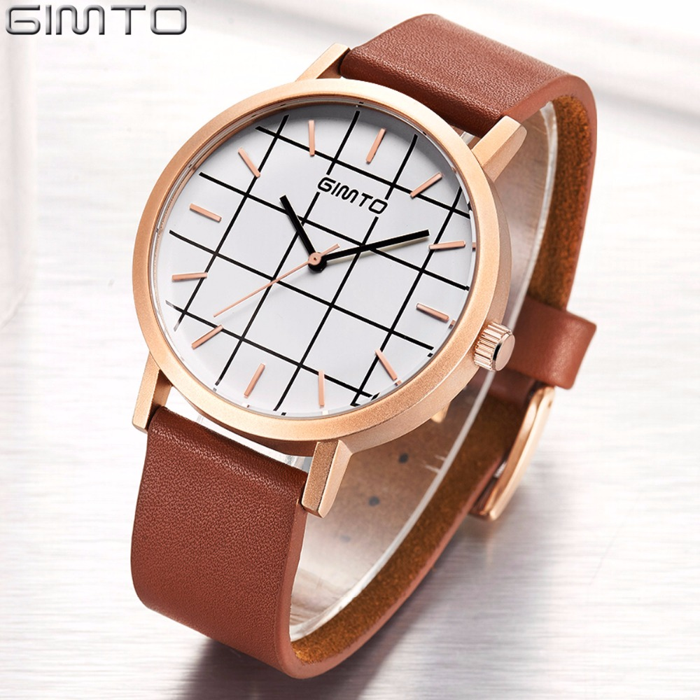 GIMTO Fashion Men Watch Luxury Brand Business Waterproof Quartz Wrist Watch Men Clock Male relogio masculino<br>