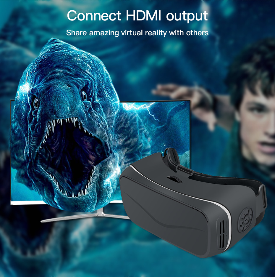 vr glasses virtual reality for pc vr glasses ps4 vr glasses hdmi vr glasses all in one VM05_9