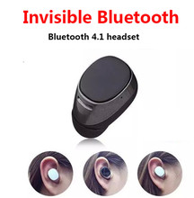 Super Mini Invisible Wireless Stereo Bluetooth Headset In-Ear V4.1 Handfree Smallest Bluetooth Earphone Headphone for all phone