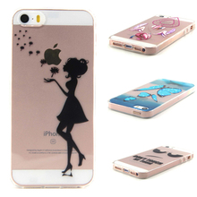 "AKABEILA Cell Phone Cases For iPhone 5 5S 5G 55S Back Covers iPhone SE 6C TPU Silicone Apple iPhone55s 4.0 "" Fundas Shell(China)"