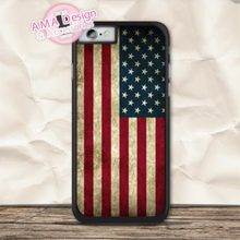 United States US Flag Cover Case For iPhone X 8 7 6 6s Plus 5 5s SE 5c 4 4s For iPod Touch 5 4(China)