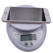 Free shipping, mini electronic kitchen scale, baking scales medicine food electronic platform scales called 5kg