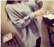 2017 new casual   maternity sweater autumn and winter  large size  solid color loose sweater for pregnant women SH-871JYF