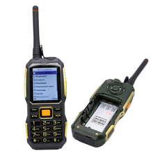 MAFAM M2 4000mAh Dual SIM Card UHF Walkie Talkie wireless FM power bank Rugged shockproof mobile phone P156