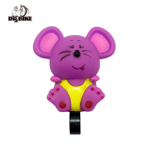 Drbike Cartoon Three Modos Bicycle Bell Bike Air Horn Bell Cycling Handlebar Bell for Kids Bicycle