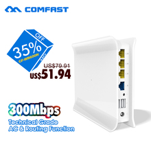 COMFAST ac management router 300mbps Wireless wi-fi Router, RJ45 Wireless Router technical grade AC+routing function CF-WR600N