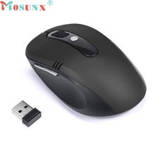 mosunx Mecall 2.4GHz Wireless Mouse USB Optical Scroll Mice for Tablet Laptop Computer Luxury Drop Shipping Mo01