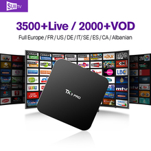 TX3PRO HD IPTV Android TV Set Top Box with iptv Live Channel Subscription 1 Year IUDTV QHDTV IPTV Abaric Europe STB Media Player