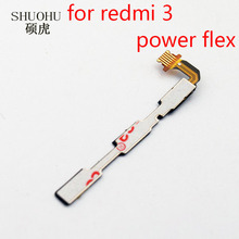 SHUOHU brand 1 pcs for Xiaomi redimi 3 3s Volume Button Power Switch On Off Button Flex Cable For redimi 3 3s(China)