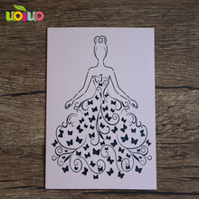 wholesale pearl paper laser cut birthday invitation card design laser cut invitation card