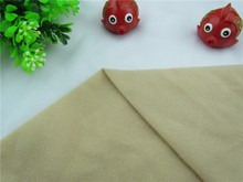 wholesale  Brown fabric for DIY sewing Stuffed toy sofa furniture material Warp knitted brushed Plain Loop velboa velvet