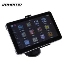 Vehemo Car GPS 7 Inches 8GB Internal Memory Navigation 3D Map View Touchscreen Radio