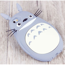 Cartoon Totoro Cases For iPhone 6 6s 6plus 3D Silicone phone Case back cover ultra soft shell funda Lovely Funny case for apple