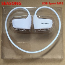 New arrival hot high quality 8GB Sport MP3 player W262 Stereo Headset MP3 headphone IPX2 mp3 player(China)