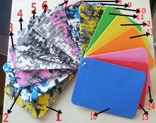 Daimond kinds color EVA Deck pad 10pcs/lot sup board grip free Express(China)