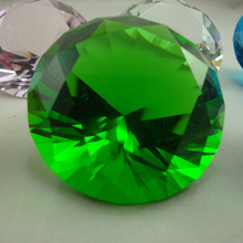 Free shipping And Logo, 30pcs/lot Customized 50mm Crystal Glass Round Diamond Paperweight ,Promotional gifts By DHL
