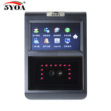5YOA F5FY Face Facial TCP IP Attendance Access Control Biometric Time Clock Recorder Employee Electronic Standalone Reader