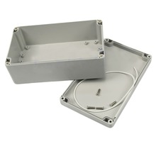 1 PC Mini 200x120x75mm Waterproof Plastic Electronic Project Box Enclosure Case(China)