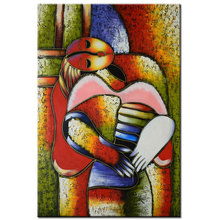 hand painted Pablo Picasso famous paintings dream girl abstract painting figure oil painting on canvas Modernism Cubism Wall Art(China)