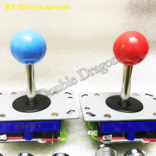 2ps/lot Classic 2/4/8 way Arcade stick PacMan Game Ball Pick a color zippy joystick 7 Colors Ball top Available