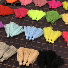 GUFEATHER 2.7cm-3cm/tassel/Cotton tassels/jewelry accessories/jewelry findings/tassels for jewelry diy
