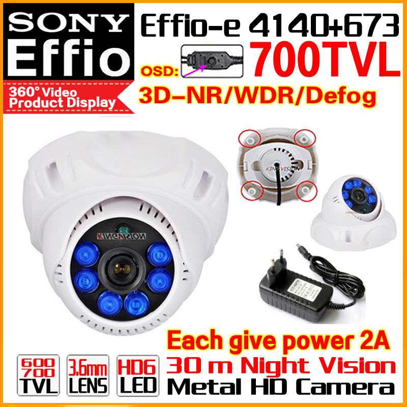 "2017 Sale Nano 1/3""Sony CCD Effio 4140DSP+673 Color Image Video Home Hd Cctv mini Camera Osd Bule LED Infrared Night Vision 30m(China)"