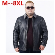 Buy Plus size 10XL 8XL 6XL 5XL 4XL 2017 New leather Jacket men sheepskin mink fur collar wool liner Designer leather coats big size for $88.20 in AliExpress store
