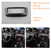 Double Din Car Radio fascia for fiat Punto (199/310) 2009+ for fiat Linea (323) 2012+(China)