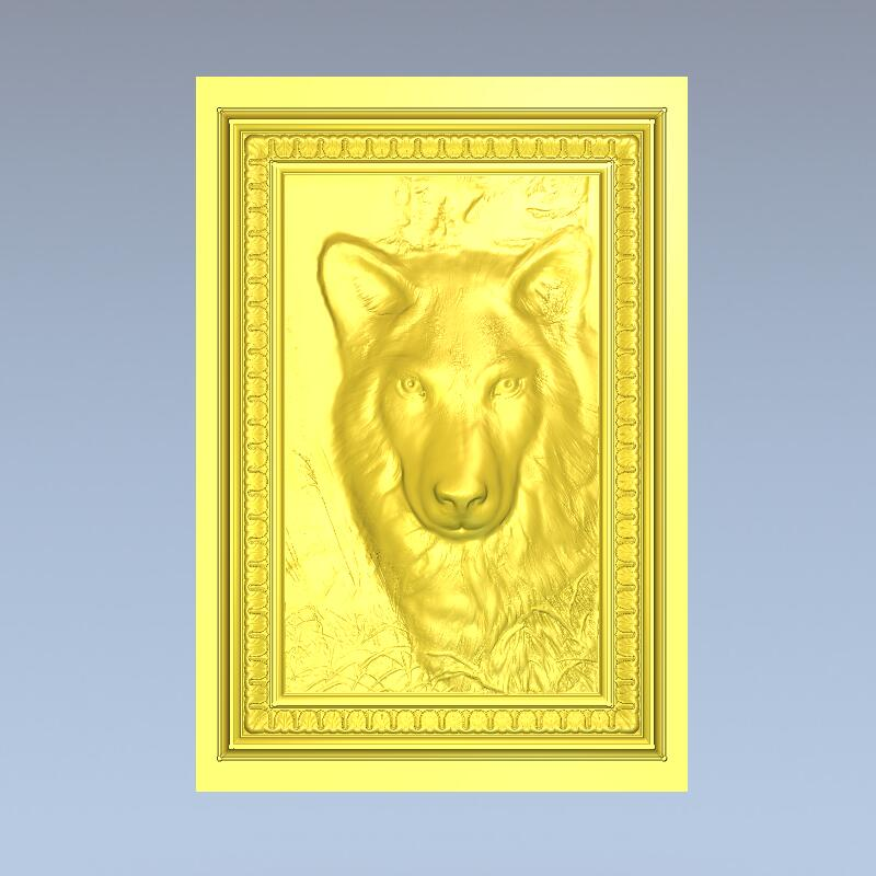 High quality 3d model relief  for cnc or 3D printers in STL file format wolf<br><br>Aliexpress