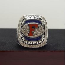2008 FLORIDA GATORS SEC NCAA FOOTBALL National Championship Ring 7-15 Size TEBOW Name Engraved Inside