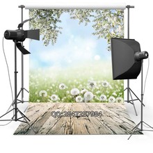 Thin Vinyl photography background Customize spring flowers Backdrops Digital Printing Background for photo Studio F-2335(China)