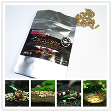45g Aquarium Crystal Shrimp Food Bee-grows Red Cherry Shrimp Food Wheat Stem Bacteria Containing Vitamins Minerals Amino Acid