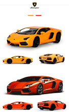 Huanqi 633 1:14 Scale High Speed Remote Control Racing Model Car Vehicle Toy 2016 New Arrival RC Gift For Children