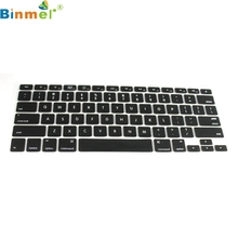"Binmer Factory Price Silicone Keyboard Cover Skin for Macbook Pro 13""15"" 60322"