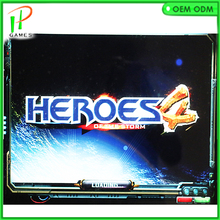 Hero of the storm 4 800 in 1 jamma arcade cabinet machine game board VGA / HDMI output for LCD  games multigame card