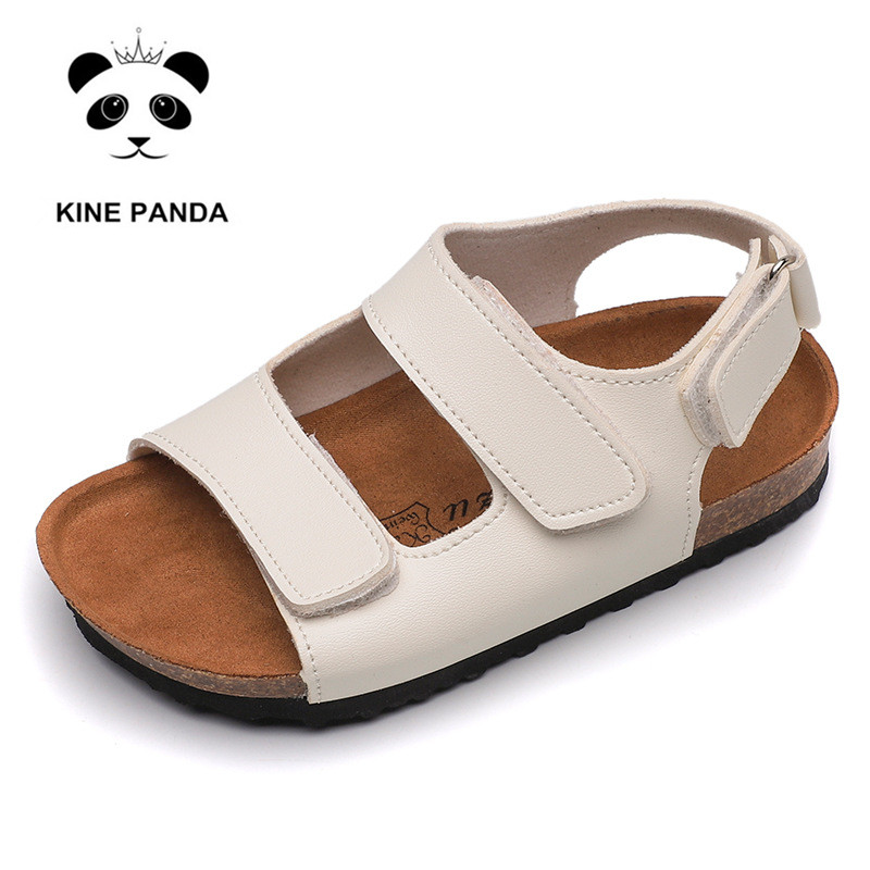UBELLA Toddler Kids Boys Leather Strap Open Toe Outdoor Sport Sandals Beach Flat Casual Shoes