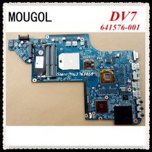 MOUGOL For HP DV7 series 641576-001 Laptop motherboard mainboard Discrete graphics 100% working Free Shipping(China)