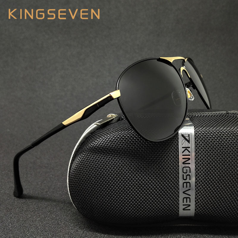 High Quality Polarized Sports Sunglasses Men Brand Designer UV protection KINGSEVEN Sun Glasses Driving Eyewear Male masculino<br><br>Aliexpress