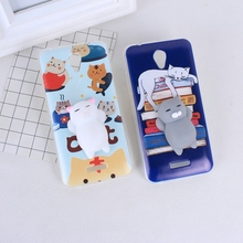 "Buy Lovely 3D Squishy Painted Case Lenovo Vibe B A1010 Lenovo A2016a40 Cover Case Soft Squeeze Lenovo A1010a20 1010 4.5"" for $1.44 in AliExpress store"