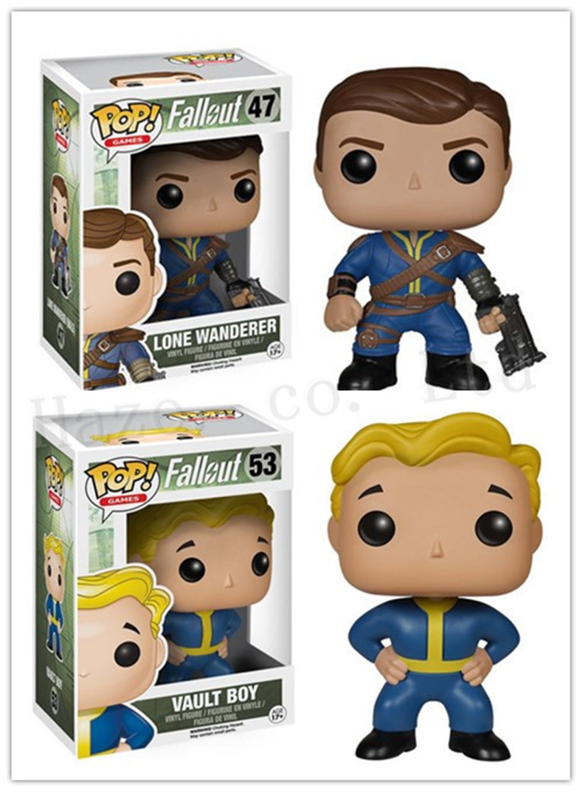 Fallout Shelter 4 Vault Boy Lone Wanderer 4 PVC New Box Complete Figure Toy<br><br>Aliexpress